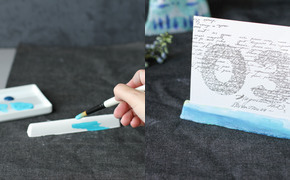 DIY: Watercolor Table...
