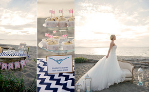 Romantic Nautical Wedding...