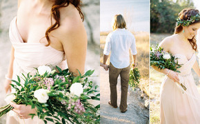 Grecian inspired elopement