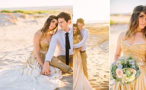 Bohemian Watercolor Wedding...