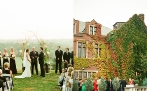 Autumn Mansion Wedding