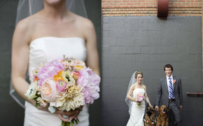 Rustic + Modern Loft Wedding