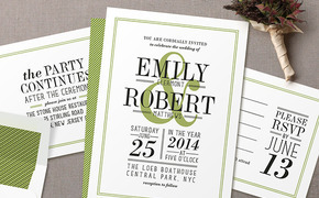 Letterpress Invites from...