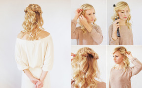 Loose halo hair tutorial