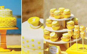 Beachy Yellow Polka Dot...