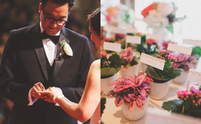 Pretty Pastel LA Wedding