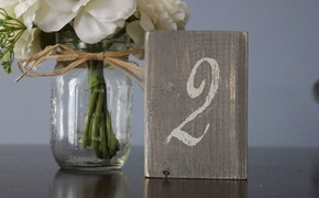 Etsy Round-Up: Table Numbers
