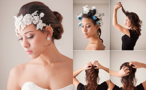 Bridal hair tutorial