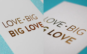 Love Big, Big Love | Gold...